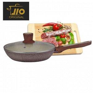 """Сковорода с гранитным покрытием JIO """"Granite Line"""" / 22 см"""