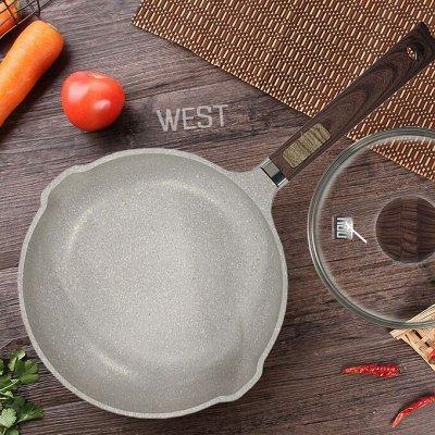 GLASSTAR🍹Мега популярная — изысканная посуда — MGC Кастрюли/Сковороды