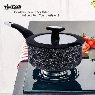 GLASSTAR🍹Мега популярная — изысканная посуда — Amercook Сотейники/Сковороды/Кастрюли