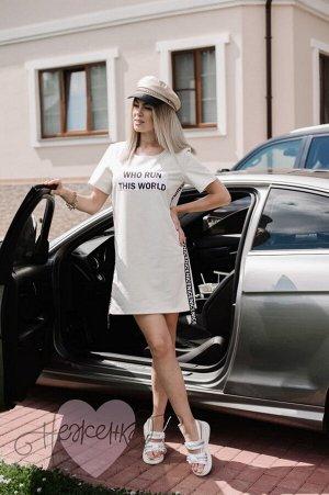 Платье П 707 (экрю)