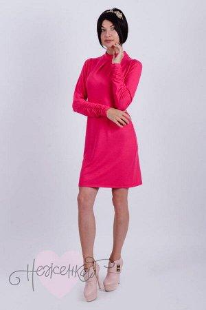 Платье П 427 (малиновый)