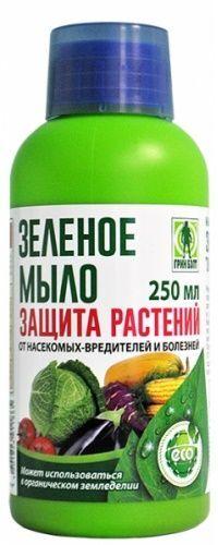 Зелёное мыло для защиты растений от вредителей 250 мл