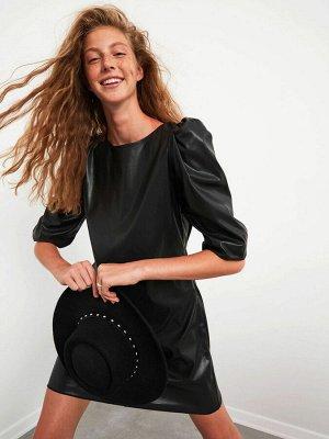 """Платье Длина: Выше колена Форма: Стандарт Тип товара: Платье Воротник: Вырез """"лодочка"""" Силуэт: Облегающая талия Варианты размеров в этой модели: L Варианты расцветок в этой модели: New Black Состав: П"""