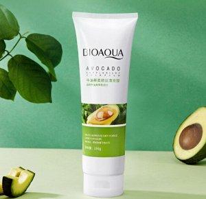 Питательная маска для волос с авокадо Bioaqua Avocado Supple Silky Hair Film, 250 мл