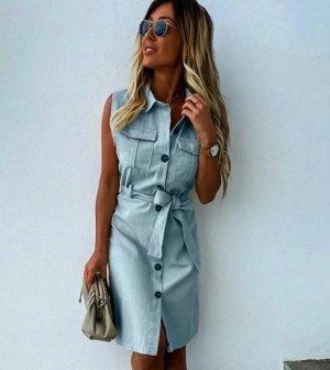 Сарафан Платье-сарафан - оптимальный выбор для жаркого лета. Легкие натуральные ткани и открытая линия плеч позволяет чувствовать себя комфортно. Ткань плотная - ХБ
