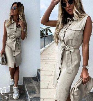 Платье Платье-сарафан - оптимальный выбор для жаркого лета. Легкие натуральные ткани и открытая линия плеч позволяет чувствовать себя комфортно. Ткань плотная - ХБ