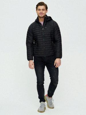 Куртка стеганная Valianly черного цвета 93349Ch