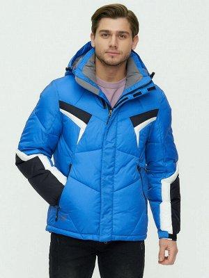 Куртка зимняя мужскаясинего цвета 9440S