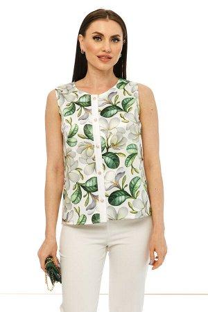 "Блуза ""Сад орхидей"" Б2218"