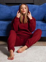 Теплый спортивный костюм Рианна, бордо
