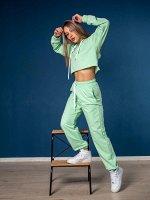 Спортивный костюм Барбара, голубой-тиффани