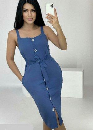 Сарафан Платье-сарафан -Платье-сарафан - оптимальный выбор для жаркого лета. Легкие натуральные ткани и открытая линия плеч позволяет чувствовать себя комфортно.