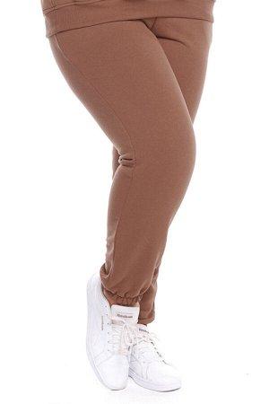 Брюки-4692 Модель брюк: Спортивные; Материал: Трикотаж;   Фасон: Брюки; Параметры модели: Рост 173 см, Размер 54 Брюки спортивные трикотажные плотные капучино Универсальные и невероятно комфортные брю