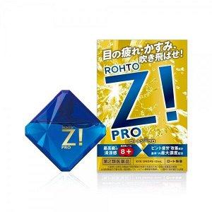 Rohto Z! PRO витаминизированные капли для глаз