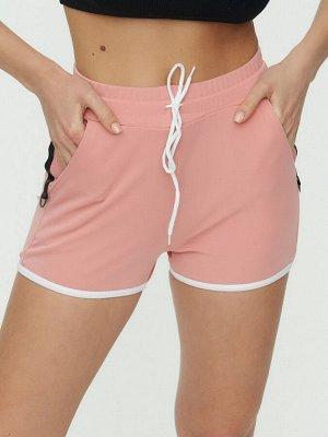 Спортивные шорты женские розового цвета 3019R