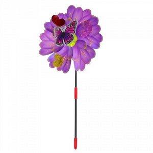 """Ветерок """"Бабочка""""  цвет в ассорт. ,25 см"""