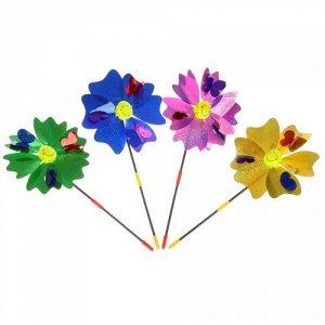 """Ветерок """"Бабочки""""  цвет в ассорт. ,29 см"""