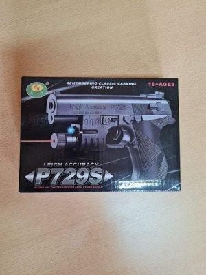 Пистолет мех лазерн прицел кор 17*13см