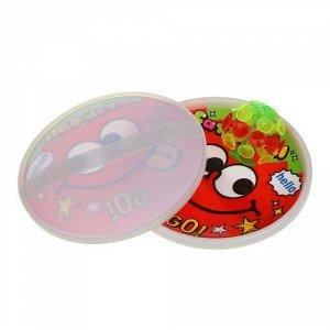 Игра с липучкой (тарелки+шарик на липучке) в ассорт, 18*5*18 см