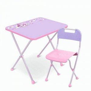 """Набор мебели """"Алина""""  (стол+стул) с единорогом тм NIKA"""