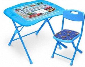 """Набор мебели """"Большие гонки""""  (стол+ мягк.стул) тм NIKA"""