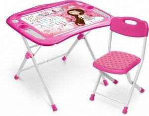 "Набор мебели ""Маленькая принцесса""  (стол +мягкий стул) тм NIKA"
