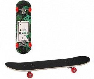 Скейтборд 70*20 см, PVC колеса