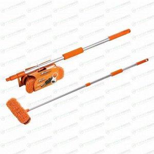 Щётка для мытья Airline, с телескопической ручкой 80-130см, ширина ворса 20см, съёмная щетина, арт. AB-H-03