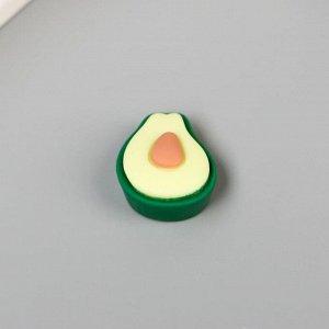 """Декор для творчества пластик """"Авокадо"""" набор 10 шт 1,8х1,5 см"""