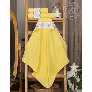"""Уголок и полотенце """"Мойдодыр"""" (желтый)"""