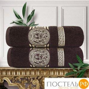 Набор из 2х полотенец Pandora 50х90 см, Махра 460 г/м2 Шоколадный