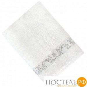 ШАНТАЛЬ 70*140 белое   полотенце махровое