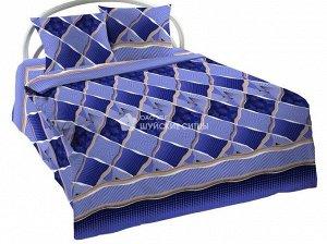 Постельное белье из бязи Шуя 2 спальный с европростыней