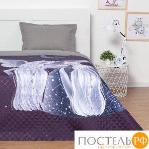 """Покрывало """"Этель"""" 1,5 сп Night dreams, 145*210 см, микрофибра 5430015"""