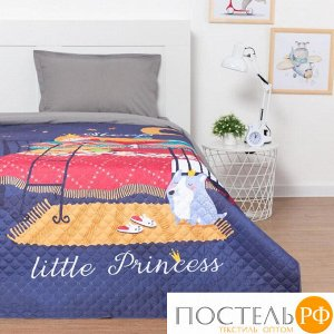 """Покрывало """"Этель"""" 1,5 сп Sleeping princess, 145*210 см, микрофибра 5430016"""