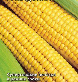Кукуруза Супер Супер Сладкая 6шт Сибирский сад