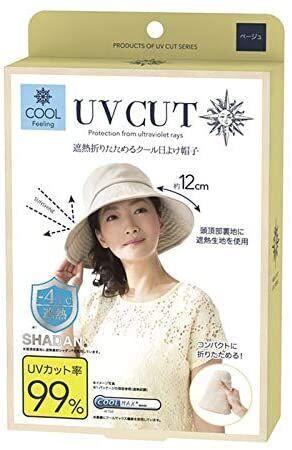 UV CUT Cool Sun Hat - охлаждающая шляпка с УФ защитой