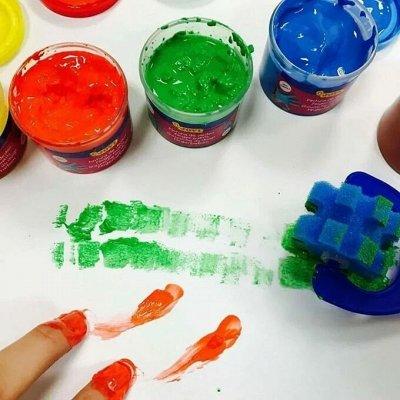 От маркера До паркера Город Канцтоваров — Краски витражные, пальчиковые — Домашняя канцелярия