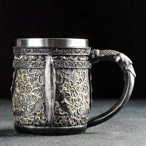 Кружка «Средневековье. Череп», 400 мл