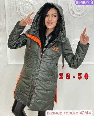 Женская Куртка Холодная Весна утеплитель Холлофайбер