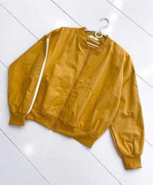 Женская Куртка-бомбер Размер:42-46 (единый) Качество Люкс