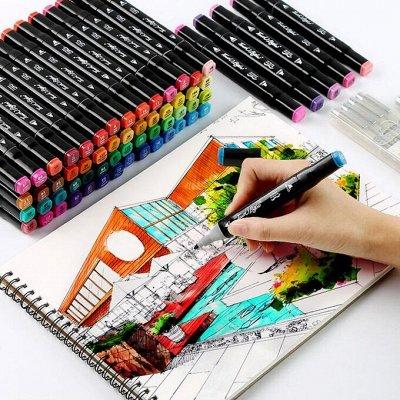 💞 Маркеры для скетчинга + товары для Рисования — Маркеры для скетчинга