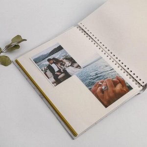Фотоальбом на 20 магнитных листов «Вместе навсегда»