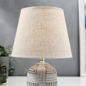 Лампа настольная 16301/1 E14 40Вт МИКС 20х20х30.5 см