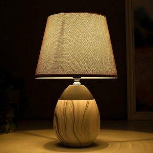 Лампа настольная 16305/1GR E14 40Вт серый 20х20х31 см