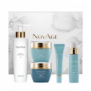 5 штук.* Комплексный уход против первых возрастных признаков NovAge Skinergise Ideal Perfection