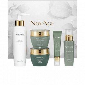 5 штук.* Комплексный уход против морщин NovAge Ecollagen Wrinkle Power
