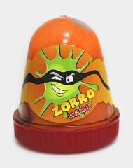 "0434 Слайм-Плюх ""ZORRO"" перламутровый оранжевый 130 грамм"
