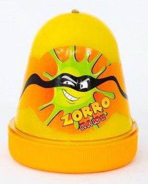"""0366 Слайм-Плюх """"ZORRO"""" перламутровый желтый 130 грамм"""