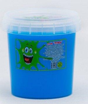 0216 Слайм-Плюх голубой контейнер 140 грамм